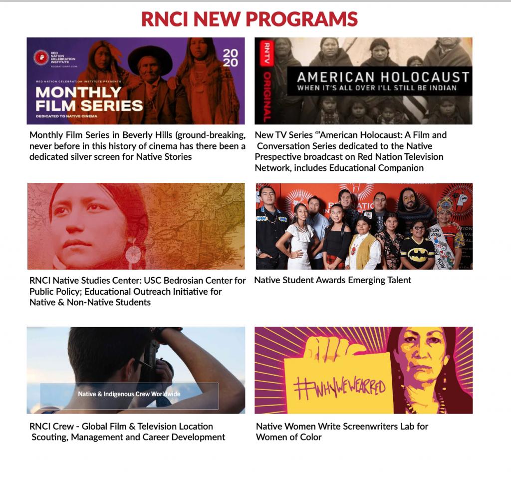 RNCI New Programs